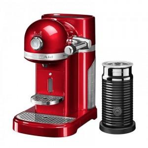 Кофемашина KitchenAid Nespresso 5KES0504ECA+ Aeroccino карамельное яблоко