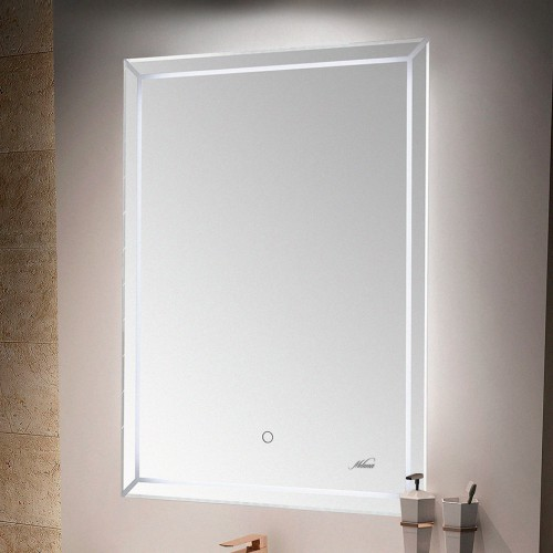 Зеркало MELANA MLN-LED192 для ванной с подсветкой