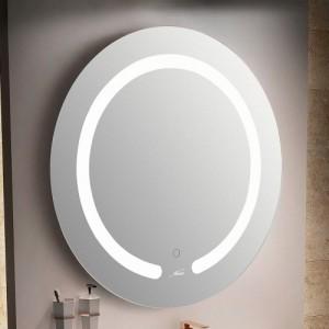 Зеркало MELANA MLN-LED087 для ванной с подсветкой