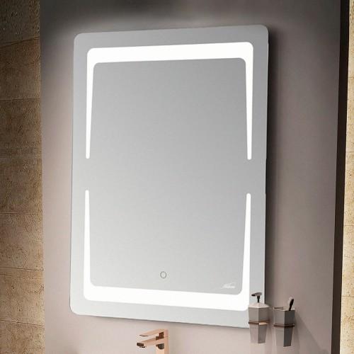 Зеркало MELANA MLN-LED018 для ванной с подсветкой