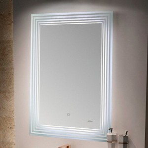 Зеркало MELANA MLN-LED051 для ванной с подсветкой
