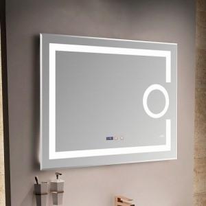 Зеркало MELANA MLN-LED091 для ванной с подсветкой