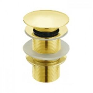 Донный клапан MELANA MLN-ТB51 золото