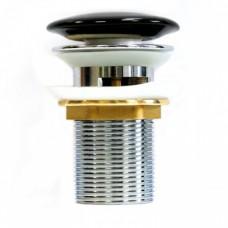 Донный клапан MELANA MLN-T201B черный