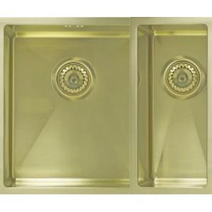 Мойка Seaman Eco Marino SME-575DR Light Gold доп. чаша справа