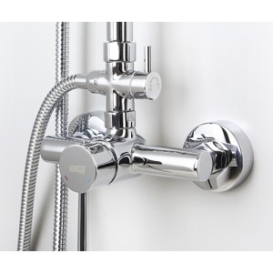 Душевая система Wasserkraft A12202 хром