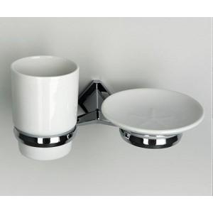 Wasserkraft Aller K-1126C держатель стакана и мыльницы, хром