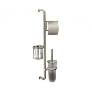Wasserkraft Ammer K-1448 комбинированная настенная стойка, матовый хром