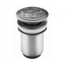 Донный клапан Zorg Antic AZR 1 SL серебро