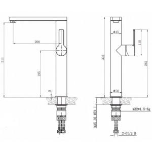 Steel Hammer SH 7028 INOX